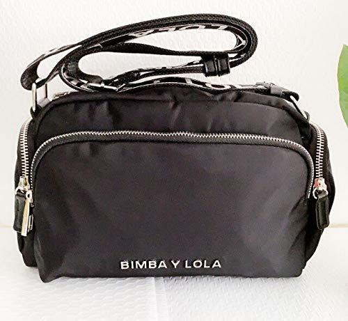 Mdsfe Bimba y Lola Bolsos de Mujer 2020 Summer 26 * 12 * 17cm H - Negro