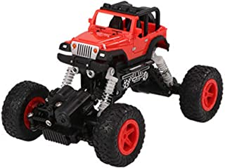 Toysgift Remote Control Climbing Rock Crawler Car 2.4 Ghz 1:22 Off-Road RC Car Truck with LED Light Drift Car Driving Toy Gifts Christmas Bitthday for Kids Boys Age 4-12 Yrs