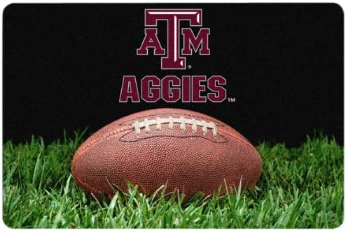 NCAA Texas AM Aggies Classic Mat Bowl Today's only San Francisco Mall Large Football Pet