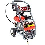 PowerKing 'Mega Blaster 250' Petrol Pressure Washer Wolf Engine 240BAR + 5 Pro Nozzles, 10m Hose, 2m Inlet Hose