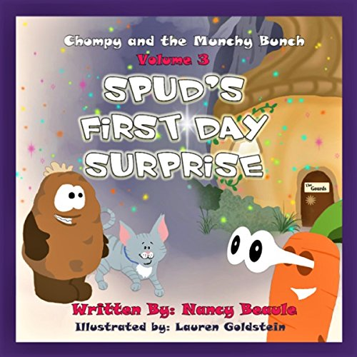 Spud's First Day Surprise audiobook cover art
