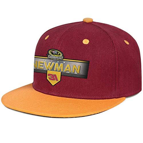 xinfub Gorra de béisbol Curva Unisex Ryan Newman 2015 Chase para The Sprint Cup Profile Distressed...