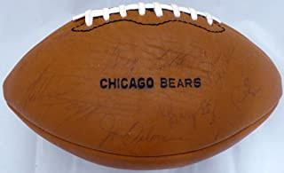 walter payton autographed football