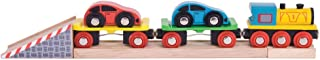 Bigjigs Rail Wooden Car Loader - Other Major Rail Brands are Compatible
