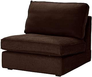 Ikea Kivik One Seat Section Slipcover Tullinge Dark Brown 002.003.20
