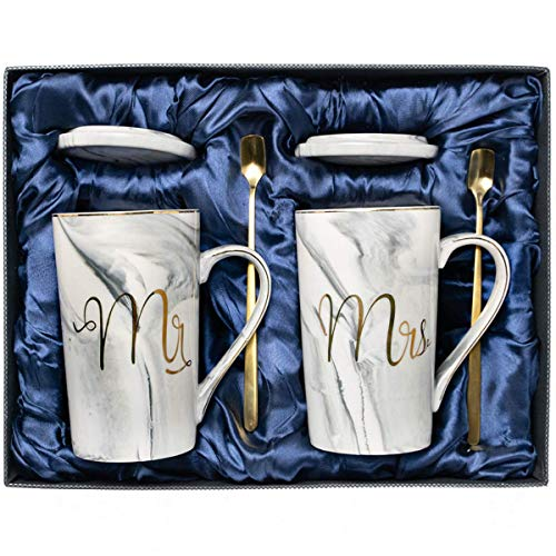 Wedding gifts for the couple, Anniversary gifts for couples, Mr and Mrs Sign Coffee Mug, Engagement gifts, Gifts for her, Bridal Shower gifts for the bride, Gift Registry for wedding, Mr and Mrs gift