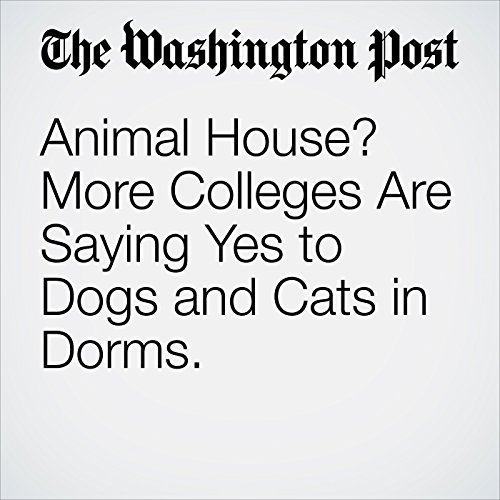 Animal House? More Colleges Are Saying Yes to Dogs and Cats in Dorms. copertina