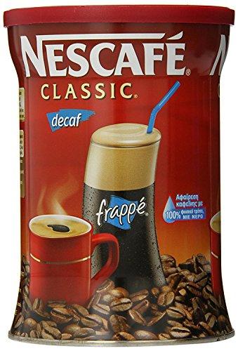 Greek Nescafe Classic Decaf Instant Frappe Coffee 200 gr