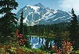 1art1 Rocky Mountains - Landschaft, See 8-teilig Fototapete