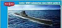 Soviet WWII submarine class SHCH series V MM144-005