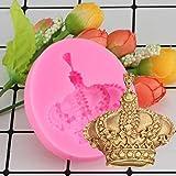 WYNYX Stampo in Silicone 3D Torta Fondente Strumenti per Decorare Cupcake Caramella in Resina di Argilla