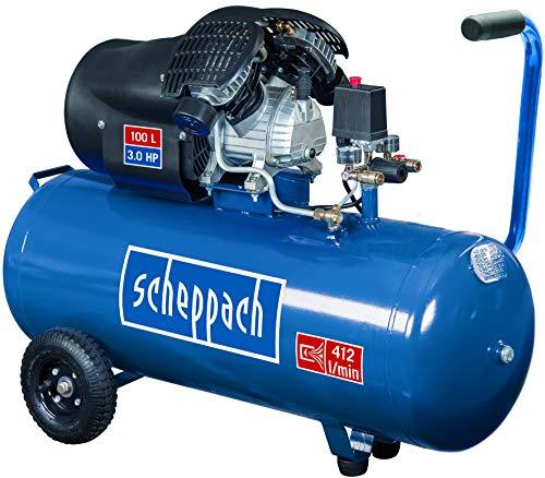 SCHEPPACH SET HC120DC Kompressor für Werkstatt | 10...