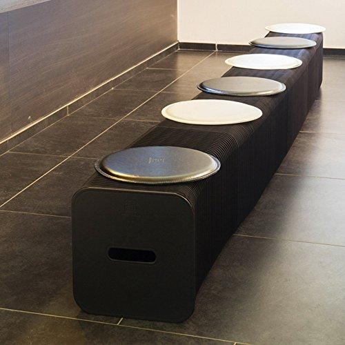Xiaolin- Hocker Kreative Esstisch Hocker Wohnzimmer Design Kunst Hocker Send Mat (größe : 28cm Stool 6 People to sit)