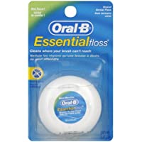 Oral-B Essential Mint Floss, 12 x 50 m 12m Color blanco hilo dental eléctrico