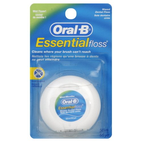 Oral-B Essential Mint Floss, 12 x 50 m