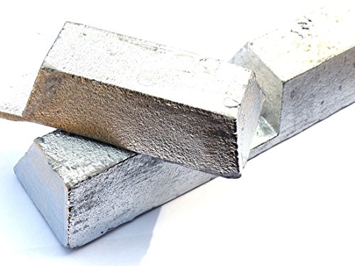 Bullet Casting Alloy (10lb Ingot - 2% Tin, 6% Antimony, 92% Lead) by MS MetalShipper