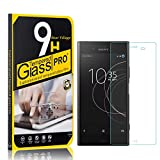 Tempered Glass Screen Protector for Sony Xperia Z4 Compact, Bear Village HD Screen Protector Film for Sony Xperia Z4 Compact, Fingerprint Proof, Anti Scratch, 4 Pack
