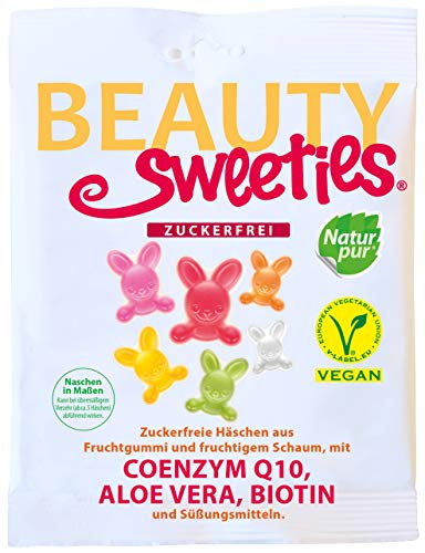 BeautySweeties Zuckerfreie Häschen, 125 g