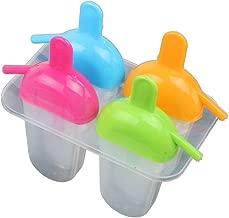 Boodtag Moule /à Glace Lot de 6 DIY B/âtonnet de Glace Atoxique Ice Pop Moules /à Esquimaux Outil Cuisine Dessert Gadget Cr/éatif sans BPA Rose