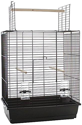 Beeztees Big Ara OP Cage à Oiseau Noir 54 x 34 x 68,5 cm