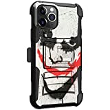 MINITURTLE Compatible with Apple iPhone 11 PRO MAX 6.5 Dual Layer Holster Belt Clip Case Cover [Clip Armor] - Joker