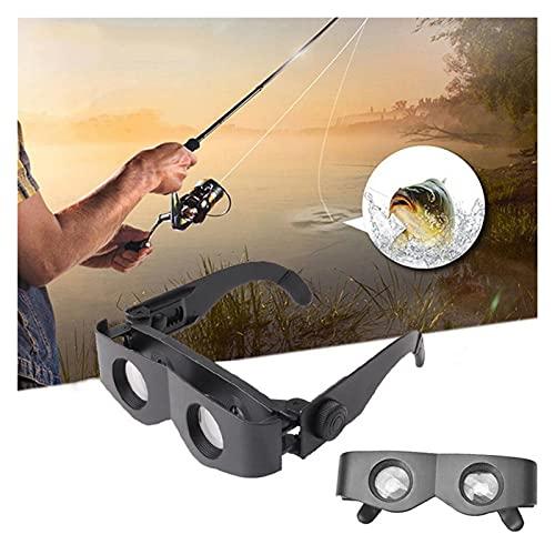 Pesca Telescopio Gafas Multifunción Pesca Portátil Magnificadora Binoculares Gafas ABDOMINALES Gafas de telescopio de marco para accesorios de herramientas de pesca al aire libre para exteriores Barco