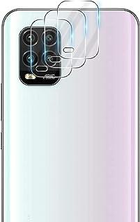 【3枚セット】Xiaomi Mi 10 Lite 5G 対応 カメラフィルム XIG01 レンズ保護フィルム 日本旭硝子素材採用 強化ガラス GEEMEE 全面保護 超薄型 高透過率 気泡レス 自動吸着 撥油性 防指紋 飛散防止 Mi 10 L...