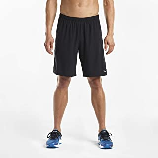 Saucony Mens Interval 9 inch 2-1 Short SAM800042-P