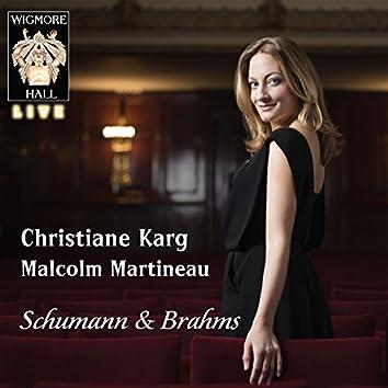 Schumann / Brahms - Wigmore Hall Live