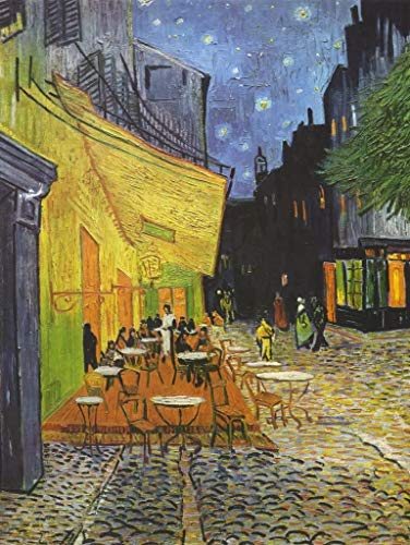 SUNYU 1000 piezas Van Gogh Cafe por la noche pintura al óleo rompecabezas para adultos de graduación especial o regalo de cumpleaños decoración del hogar