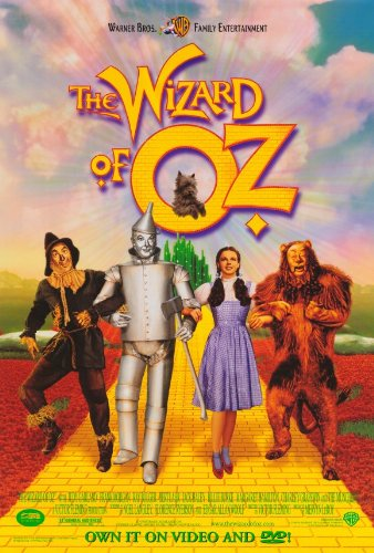 The Wizard of Oz Movie Poster (27 x 40 Inches - 69cm x 102cm) (1998) -