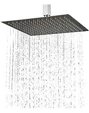 Kelelife Douchekop, regendouche, roestvrij stalen regendouche voor uw badkamer, 30 cm, ultra slim design