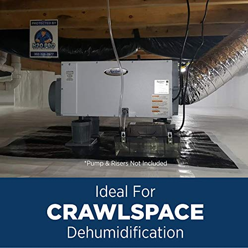 Aprilaire 1820 Pro Dehumidifier, 70 Pint Commercial Dehumidifier for Crawl Spaces, Basements, Whole Homes up to 2,800 sq. ft.