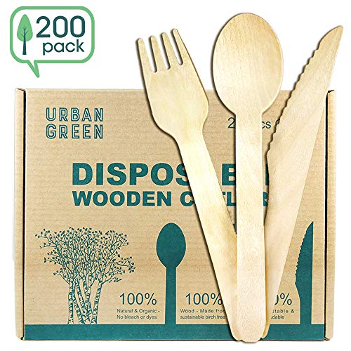 Disposable Wooden Cutle...