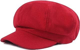 Ambysun Women's Newsboy Hat Cap Cabbie Beret Bakerboy Visor Peaked Ivy Flat Hat