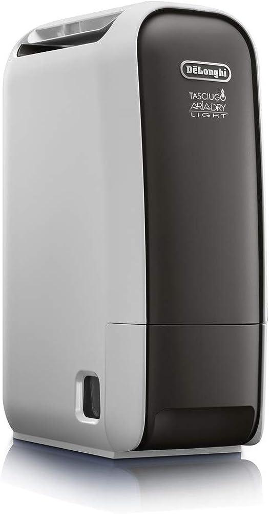 De`longhi dns 65 tasciugo ariadry, deumidificatore ambiente casa, 520 w, 6 litri 0148112605