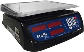 Balança De Automação, Elgin, Dp15, 15 kg/2g, Com Bateria, Preta