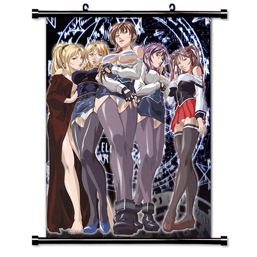 Bible Black Anime Fabric Wall Scroll Poster (32' X 45') Inches
