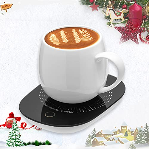 Coffee Cup Warmer for Desk with Auto Shut Off,...