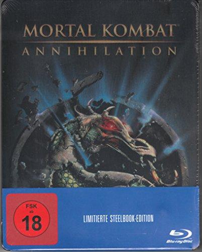 Mortal Kombat - Annihilation Steelbook, Blu-ray, Media-Markt + Saturn Exklusiv, Uncut, Regionfree