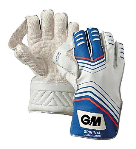 Gunn and Moore Original L.E. Herren Handschuhe für Wicketkeeper Handschuhe Blau blau L