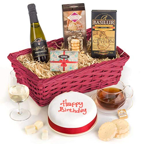Hay Hampers Birthday Cake Celebration Hamper Basket