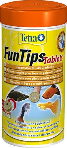 Tetra - 757677 / Tablets Tips - Tablettes pour poissons tropicaux - Mélange flocons/nutriments congelés - 300 tablettes