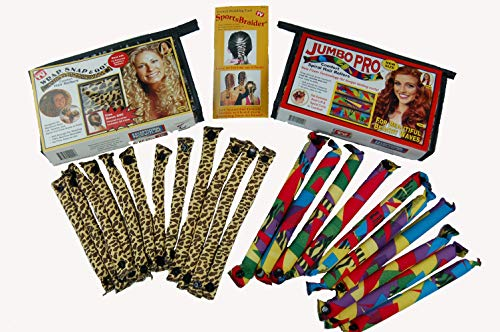 Wrap Snap & Go Comfort curlers with Jumbo Pro Curlers Combo