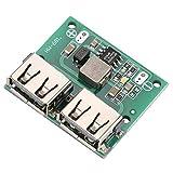 Módulo Buck - Salida USB Dual 9V / 12V / 24V a 5V 3A DC-DC Módulo Cargador Reductor de energía