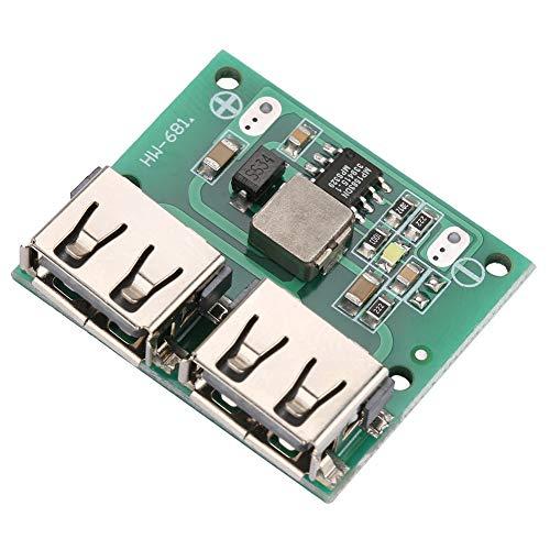 DC9V / 12V / 24V a DC5V 3A DC-DC Regulador de voltaje reductor Módulo de cargador de energía Salida USB dual