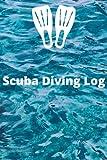 Scuba diving journal log book: Dive book log