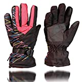 Ski Gloves Breathable Snowboard Gloves,Warm Winter Snow Gloves, Snowboard Snowmobile Cold Weather Gloves for Men & Women
