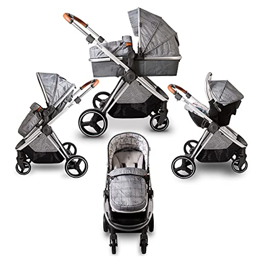 Red Kite, Push Me Pace Travel System, Shadow