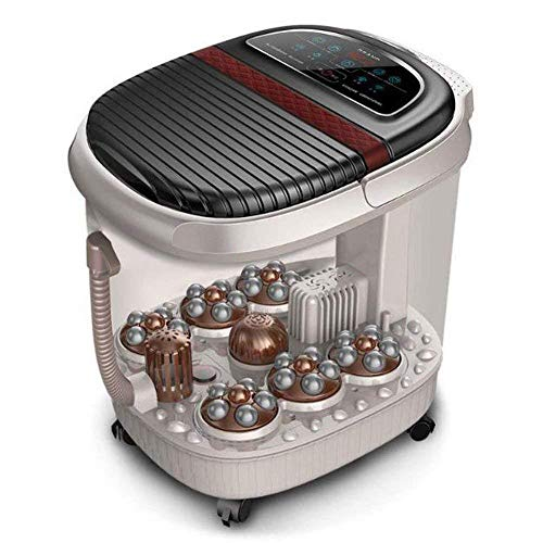 New ZYAMXJP Foot Automatic Heating Massage Foam Basin Massage Spa Massage Automatic Foot Bath, Massa...